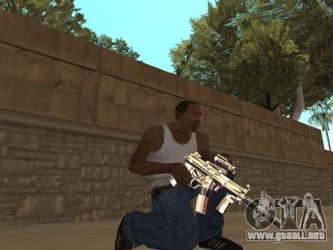 Chameleon Weapon Pack para GTA San Andreas tercera pantalla