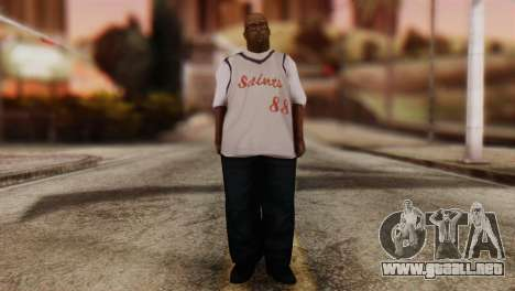 Big Smoke Skin 3 para GTA San Andreas segunda pantalla