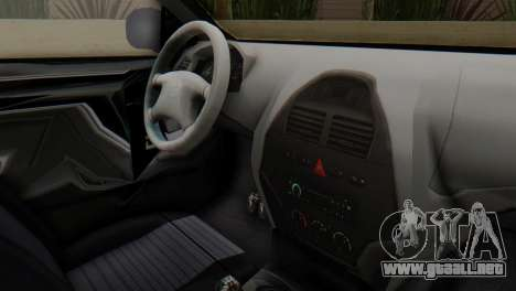 SAIPA Tiba Police v1 para la visión correcta GTA San Andreas