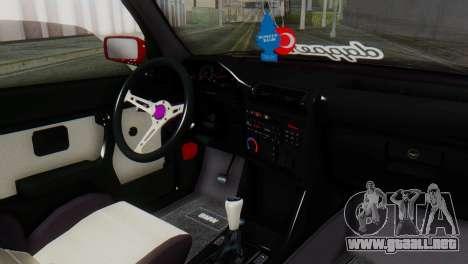 BMW M3 E30 B. O. de la Construcción para la visión correcta GTA San Andreas
