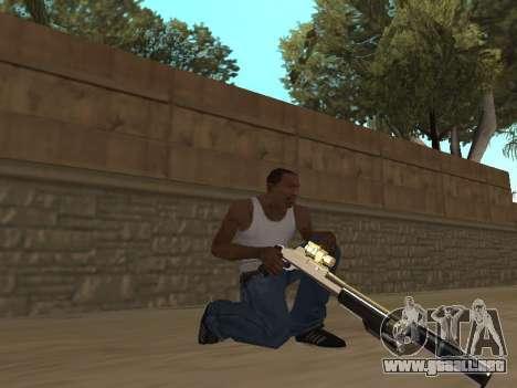 Chameleon Weapon Pack para GTA San Andreas segunda pantalla