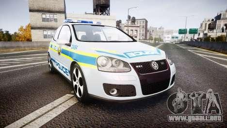 Volkswagen Golf South African Police [ELS] para GTA 4