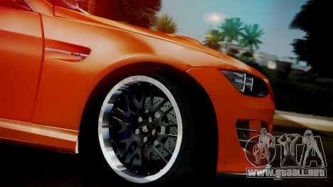 BMW M3 E92 Hamman para la visión correcta GTA San Andreas