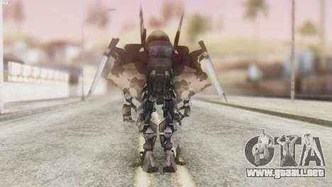 Breakaway Skin from Transformers para GTA San Andreas tercera pantalla