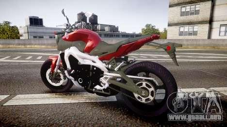 Yamaha MT-09 para GTA 4 left