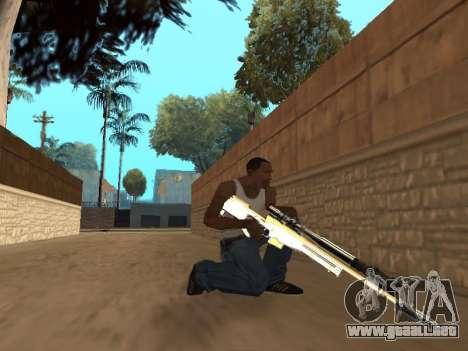 Chameleon Weapon Pack para GTA San Andreas séptima pantalla