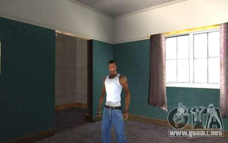 Auricular para GTA San Andreas sexta pantalla