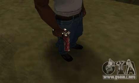 Red Puma Deagle para GTA San Andreas tercera pantalla