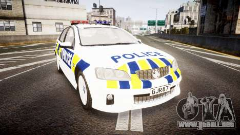 Holden VE Commodore SS Police HWP [ELS] para GTA 4