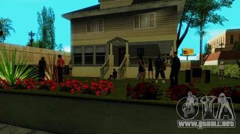 Partido de Jefferson para GTA San Andreas tercera pantalla