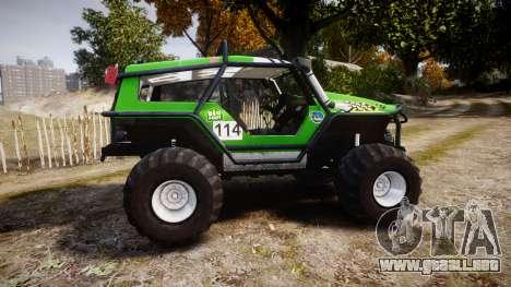 Tiger 4x4 para GTA 4 left