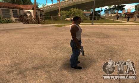 Deagle White and Black para GTA San Andreas tercera pantalla