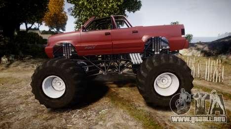Albany Cavalcade FXT Cabrio Monster Truck para GTA 4 left