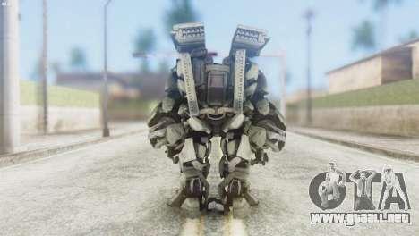 Des Titan Skin from Transformers para GTA San Andreas tercera pantalla