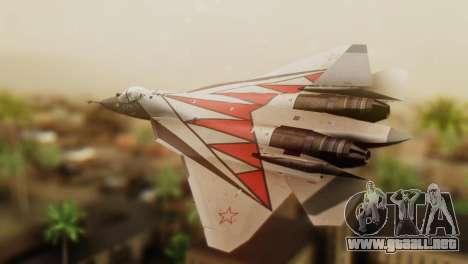T-50 PAK-FA -Akula- para GTA San Andreas left