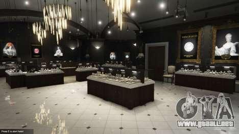 GTA 5 El robo de una joyería v0.2 segunda captura de pantalla