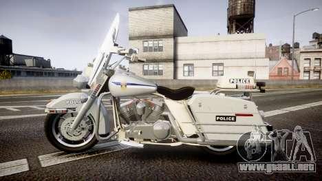 Harley-Davidson FLH 1200 SPVQ [ELS] para GTA 4 left