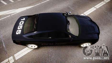 Dodge Charger LC Police Stealth [ELS] para GTA 4 visión correcta