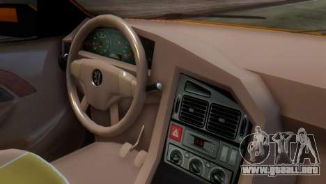 Peugeot 405 Slx Taxi para la visión correcta GTA San Andreas