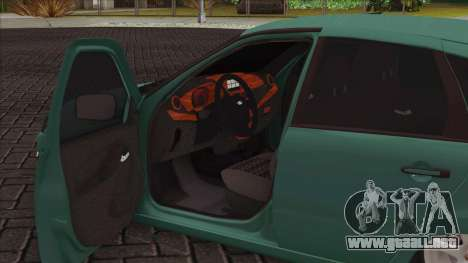 Lada 2118 Kalina 2 para visión interna GTA San Andreas