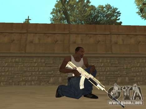 Chameleon Weapon Pack para GTA San Andreas quinta pantalla