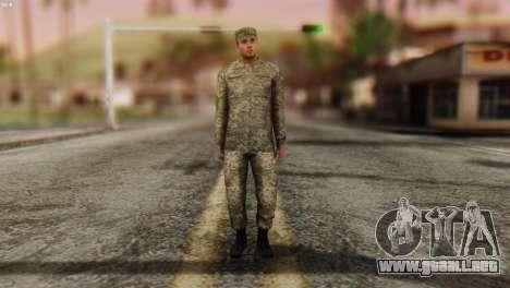 Un Miembro De Las Fuerzas Armadas De Ucrania para GTA San Andreas segunda pantalla