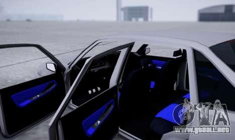 Daewoo Nexia 2006 para visión interna GTA San Andreas