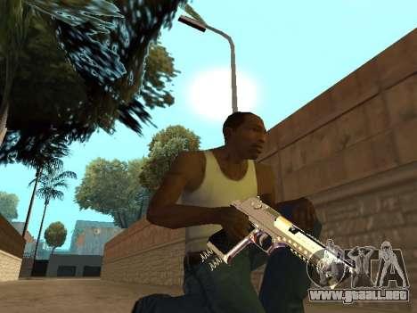 Chameleon Weapon Pack para GTA San Andreas sexta pantalla