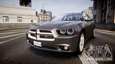 Dodge Charger Traffic Patrol Unit [ELS] rbl para GTA 4