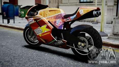 Bike Bati 2 HD Skin 1 para GTA 4 left