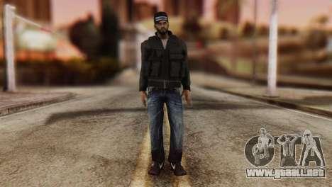 Desmadroso Skin v8 para GTA San Andreas segunda pantalla