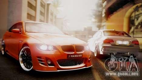 BMW M3 E92 Hamman para GTA San Andreas