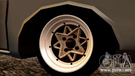 Dacia 1300 Tuning para GTA San Andreas vista posterior izquierda