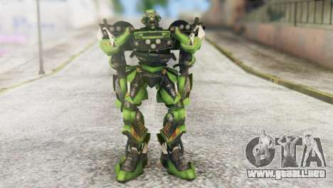 Ratchet Skin from Transformers v2 para GTA San Andreas segunda pantalla