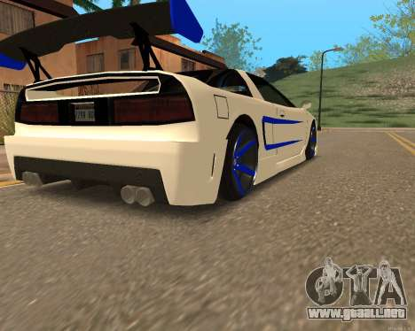 Infernus Piel para GTA San Andreas left