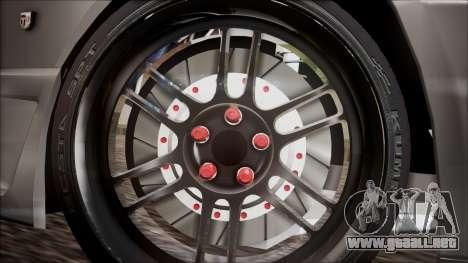 Nissan Skyline R32 para GTA San Andreas vista posterior izquierda