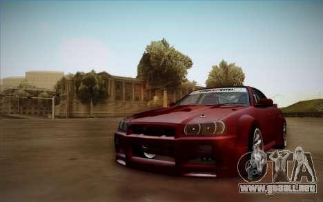 Nissan Skyline (ER34) 2015 para GTA San Andreas