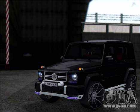 Brabus B65 Angry para GTA San Andreas