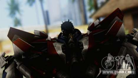 Starscream Skin from Transformers v1 para GTA San Andreas