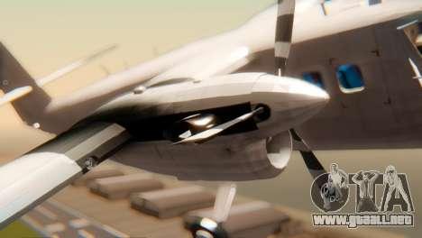 DHC-6-300 Twin Otter para la visión correcta GTA San Andreas