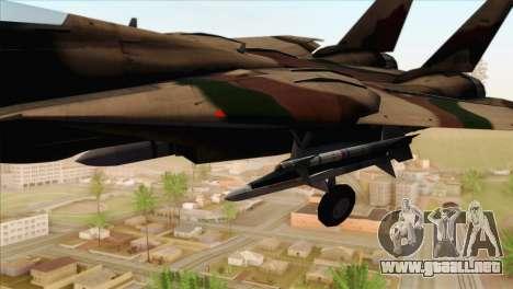 Grumman F-14A IRIAF para la visión correcta GTA San Andreas