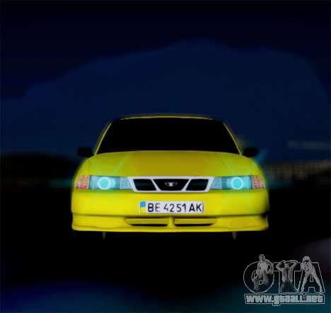 Daewoo Nexia 2006 para GTA San Andreas left
