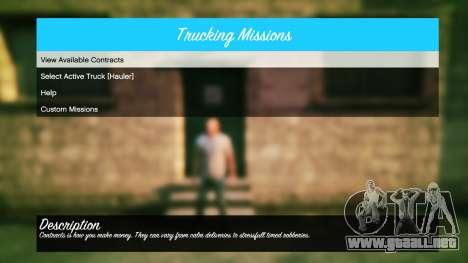 GTA 5 Camiones v1.4 cuarto captura de pantalla