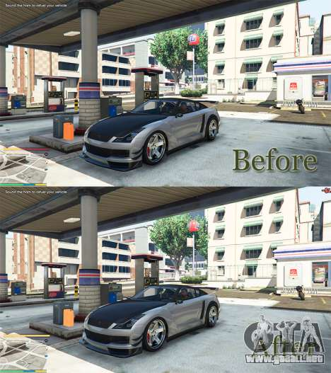 GTA 5 Combustible v0.8 tercera captura de pantalla