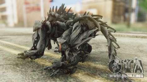 Hatchet Skin from Transformers para GTA San Andreas segunda pantalla
