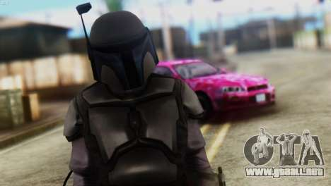 Star Wars Repulic Commando 2 Jango Fett para GTA San Andreas tercera pantalla