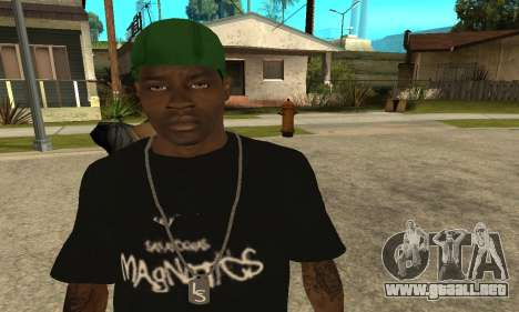 Groove St. Nigga Skin The Third para GTA San Andreas