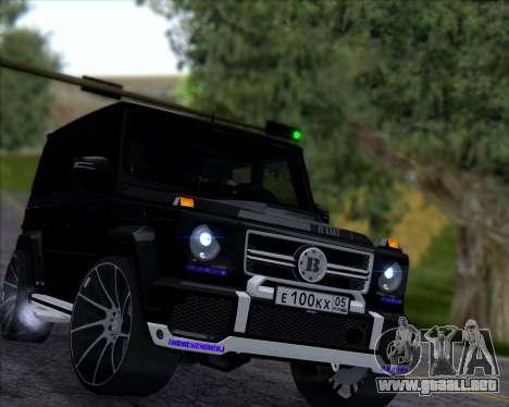 Brabus B65 Angry para GTA San Andreas left