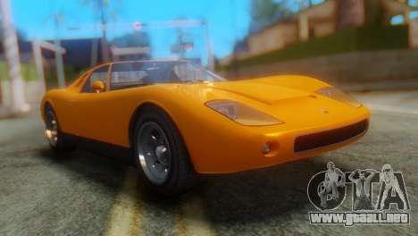 GTA 5 Pegassi Monroe para GTA San Andreas