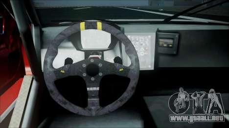 Volvo S60 Racing para la visión correcta GTA San Andreas